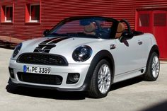 2012 MINI Cooper Roadster Convertible Exterior (I AM IN LOVE WITH THIS CAR...IT IS SO BEAUTIFUL)