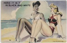 Postcard from the collection of Langston Hughes, art by Jay Jackson.