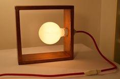 Lámpara De Mesa, Velador. Diseño Único Y Artesanal. - $ 350,00