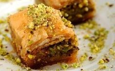 Baklava, or baklawa in many Middle Eastern countries, is a delicious pastry that is known worldwide. There are many variations to baklava, depending on where in the Middle East you are, but this is by far the most popular. Greek Baklava, Turkish Baklava, Grilling Recipes, Cooking Recipes, Healthy Recipes, Healthy Food, Diet Recipes, Pastry Recipes, Gastronomia