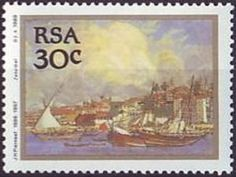 Stamp: Painting (South Africa) (Jacob Hendrik (1886-1957)) Mi:ZA 780,Yt:ZA 697,Sg:ZA 690