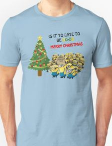 Is It To Late To Be Good Merry Christmas  - T shirts & Accessories T-Shirt