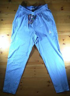 c5a4d845c586aa Details about NWT Nike Jordan UNC North Carolina Tar Heels Hyper Elite  Pants L  100 Tapered