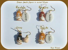 Polymer Clay World Culture: Ancient Greece Women Earrings by Bojo-Bijoux on deviantART