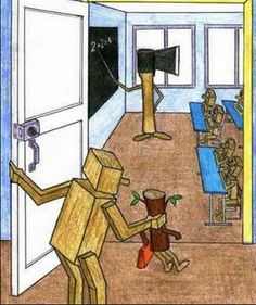 te cambia la escuela/school changes your personality