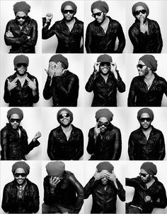 Lenny Kravitz. Peace, love & Lenny!