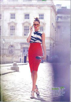 ¿cómo usar una falda lápiz? StyleinLima. Pencil skirt.