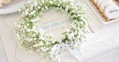 お花と針金だけで簡単に作れる!自分だけのかわいい花冠の作り方<br />|DIY Baby Shower by ARCH DAYS編集部