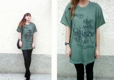 Make Love no War by Automa Style Amanda, War, Shirt Dress, T Shirts For Women, Unisex, Tees, How To Make, Style, Dresses