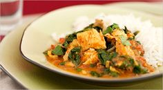 Turkey and spinach curry. You know, Thanksgiving shouldn't be the only time of the year I eat turkey!