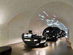 INNOCAD Architektur. Project: Graz Tourismus information center. Location: Graz, Austria.
