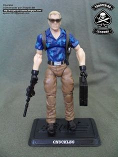 GI JOE CHUCKLES ~ Gi joe Action Figure Customs