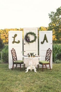 brides of adelaide magazine - initial - outdoor reception - garden wedding