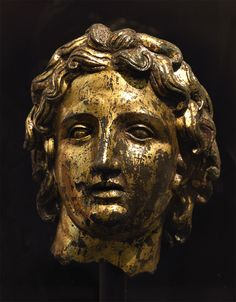 Portrait of Alexander the Great. Bronze. 2nd cent. CE. Inv. No. 661. Rome, Roman National Museum, Palazzo Massimo alle Terme