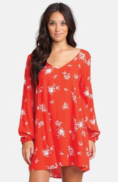 Billabong 'Sweet Tomorrows' Floral Print Dress (Juniors)   Nordstrom
