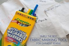 Best Fabric Marking Tool for Garment Sewing