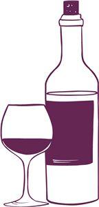 Silhouette Online Store - View Design #30154: wine
