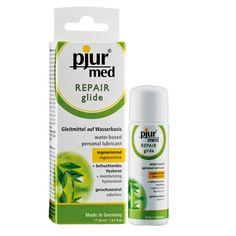 PJUR MED LUBRICANTE REPARADOR 30ML Lubricante de base acuosa con componentes naturales, proporciona un efecto regenerador mediante una hidratación intensiva de la piel. Dermatológicamente testado. Adecuado para el uso con preservativos de látex. No contiene colorantes, ni aromas sintéticos, ni derivados de parafina. Sin aceites ni grasas. Sabor y olor neutro. http://discreetintimate.com/aceites-esenciales/4101-pjur-med-lubricante-reparador-30ml.html