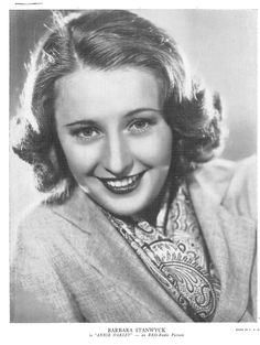 Barbara Stanwyck | Vintage Photograph | Annie Oakley | RKO Radio Picture | Black and White Photograph | Actress | Golden Age of Hollywood by NoPlaceLikeVintage on Etsy