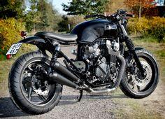 Custom Honda CB 750 | Street Scrambler | Rewheeled | MotoVerso