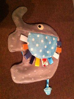 Elephant Taggie blanket