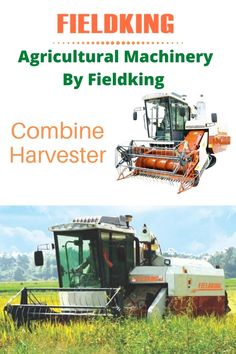 With Longer & wider rubber track allow combine machine work smoother and quicker in swampy, uneven and wet fields. Learn more about Fieldking combine machine click on the image #combine #combineharvester #harvester #farmequipment #farmmachine #farmimplement #newmachine #agriculture #agricultureequipment #farmequipment #equipment Harvest Corn, Agriculture Machine, Combine Harvester, Tractors, Fields, Track, Image, Runway, Truck