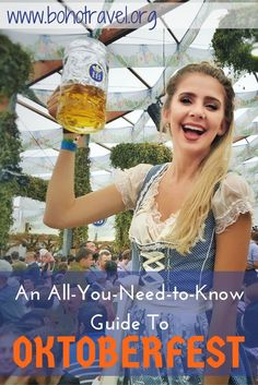 An All You Need to Know Guide to Oktoberfest!! What to wear at Oktoberfest | where is Oktoberfest held | Oktoberfest attire | beer at Oktoberfest | Munich, Germany Oktoberfest | Oktoberfest in Germany | How to do oktoberfest | what is oktoberfest | how do I go to oktoberfest