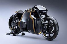 Lotus C-01 Designer Motorrad – Tron vs. Luxus | Fashion Label & Lifestyle Magazin