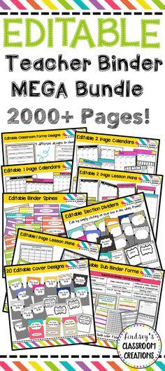 Classroom Themes, Classroom Organization, Classroom Management, Teacher Binder, Teacher Planner, Teacher Stuff, Teaching Techniques, Teaching Tips, Substitute Binder