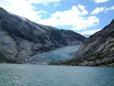 Nigardsbreen glacier.