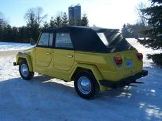 1974 Volkswagen Thing 181 Convertible, $16500 in Kitchener, ON, Canada (Never been driven in winter... parked in the snow?)