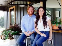Joanna Gaines designs a stunning cabin in the country with modern motifs for metal-craftsman Jimmy Don Holmes and his son Jake. The renovation makes the most of amazing views and indoor-outdoor spaces including a rock patio and firepit.