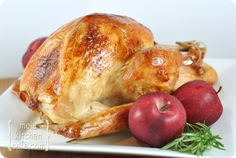 Roasted {Brined} Turkey & Gravy- And a Whole Slew of Upcoming Thanksgiving Recipes