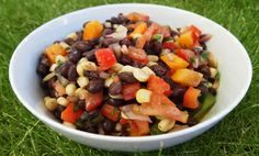 Wonderful black bean salad!