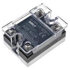 Releu Static Monofazat 50A / 24-280 VAC ASR-50DA Anly