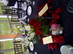 Elmhurst Art Museum Wedding -- Centerpiece