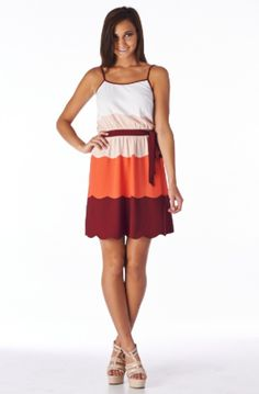 We Are Virginia Tech Dress: Maroon