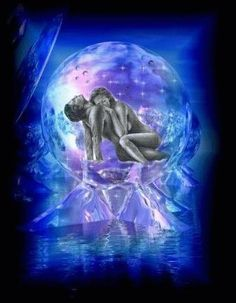 Each time they make love they merge with their true selves and instigate a chain reaction event in their lives where they begin to understand the kingdom and live within a life where they do not know pain or hunger or need or poverty.
