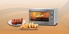 With the help of an OTG, you can easily prepare a variety of baked and roasted dishes in a healthy way. The preset menu functions make it easy to operate the appliance. Barbecue Chips, Baked Samosa, Fried Chips, Paneer Tikka, Cooking Appliances, Indian Snacks, Great Appetizers, Healthy Vegetables, Oven Recipes