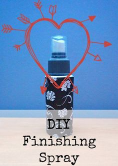 DIY finishing spray mac fix plus