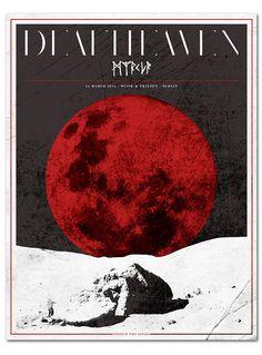 DEAFHEAVEN + MYRKUR   poster on Behance