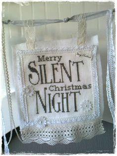 Cross Stitch Silent Night
