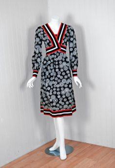 Dress  Sarmi, 1960s  Timeless Vixen Vintage