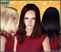 Amanda hair at Cool Sims - Sims 3 Finds