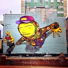 Street art | Mural by Os Gemeos