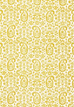 Schumacher linen fabric 'Kalika Paisley Print' in Citron Fabric Design, Pattern Design, My Design, Textile Patterns, Print Patterns, Textiles, Palm Beach, Paisley Art, Traditional Fabric