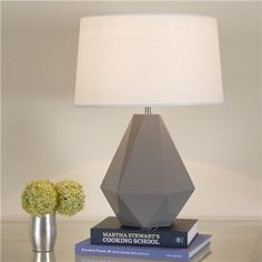 geometric table lamp - also comes in orange, pink, white, red, acid green and turquoise