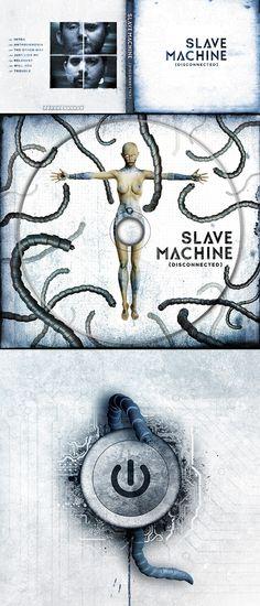 Slave Machine 'Disconnected' Album artwork