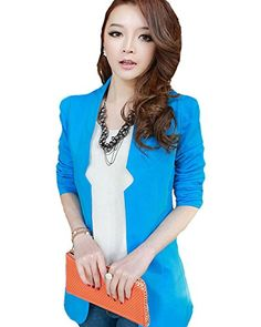 My Wonderful World Women's No Button Shrug Open Front Blazer Small Blue My Wonderful World Blazer Coat Jacket http://www.amazon.com/dp/B0177Q79US/ref=cm_sw_r_pi_dp_GK1lwb06MAH99