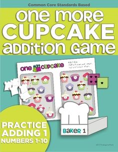 One More Cupcake from KindergartenWorks on TeachersNotebook.com -  (10 pages)  - Practice adding one (numbers 1-10) to strengthen number sense.